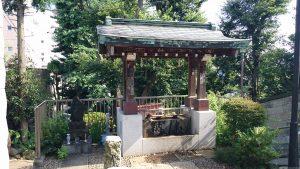 田端八幡神社 手水舎