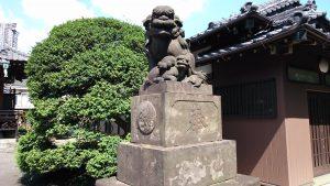 太田神社 狛犬 (2)