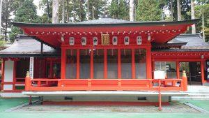 箱根神社 神楽殿