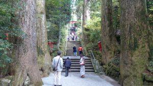 箱根神社 90段の正参道