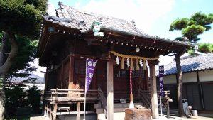 太田神社 拝殿