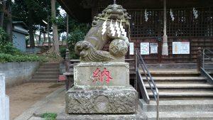 田園調布八幡神社 狛犬 (1)