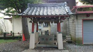 道々橋八幡神社 手水舎