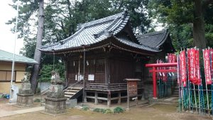 田園調布八幡神社 社殿