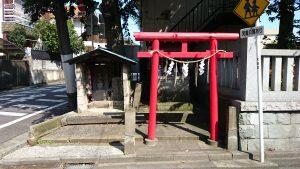 鵜ノ木八幡神社 稲荷社・道祖神