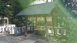 代田八幡神社 手水舎 (2)