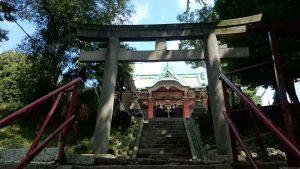 子安八幡神社 二の鳥居