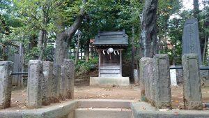 代田八幡神社 御嶽社