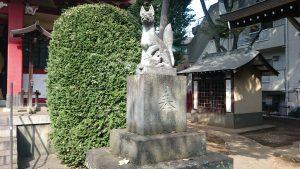 稲荷森稲荷神社 神使狐 (2)