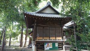 経堂天祖神社 旧神楽殿