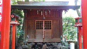 文京区後楽 小石川諏訪神社 思いの森稲荷神社 (2)