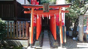 文京区後楽 小石川諏訪神社 思いの森稲荷神社 (1)