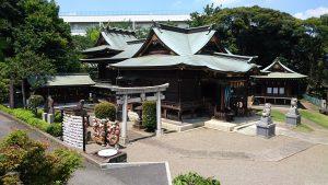 赤羽八幡神社 境内全景