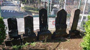 赤羽北諏訪神社 袋村の庚申待供養塔群