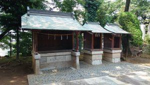 赤羽北諏訪神社 境内社