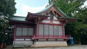 子安八幡神社 舞殿