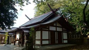 代田八幡神社 拝殿