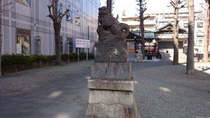 市守大鳥神社 狛犬 (2)
