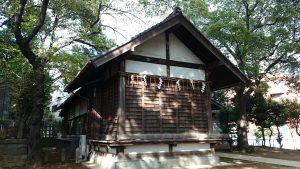 代田八幡神社 神楽殿