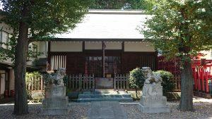 文京区後楽 小石川諏訪神社
