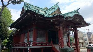 子安八幡神社 拝殿