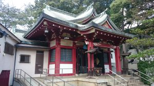 稲荷森稲荷神社 拝殿