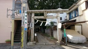 経堂天祖神社 一の鳥居