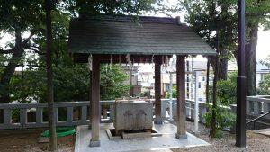 代田八幡神社 手水舎 (1)