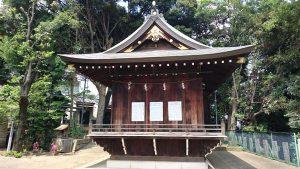 赤羽八幡神社 神楽殿