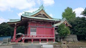 子安八幡神社 社殿全景