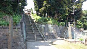 赤羽八幡神社 参道石段