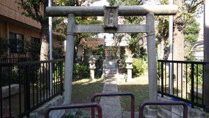 赤羽北諏訪神社 水神社 (1)