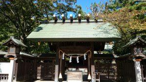意富比神社(船橋大神宮)拝所