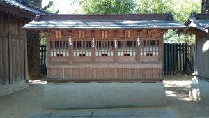 意富比神社(船橋大神宮)八幡神社・竈神社・龍神社・道祖神社・客人神社・多賀神社