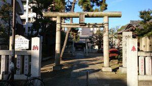 竹塚神社 一の鳥居