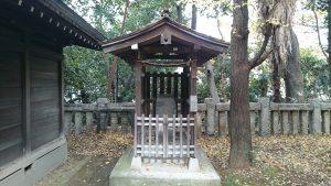 西久保八幡神社 庚申社 (1)