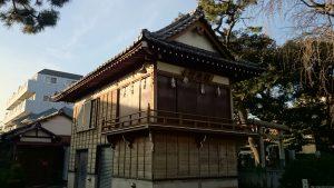 栗原氷川神社 神楽殿