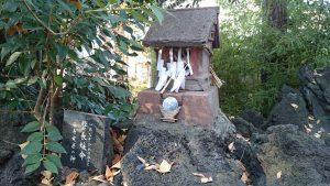 島根鷲神社 富士塚 小御嶽神社