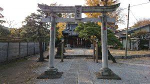 六月八幡神社 三の鳥居