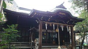 西久保八幡神社 拝殿