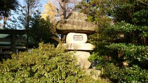 島根鷲神社 大灯籠