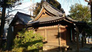 栗原氷川神社 社殿