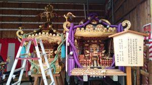 用賀神社 神輿