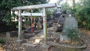 島根鷲神社 富士塚 (島根富士)