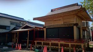 鴻神社 神楽殿