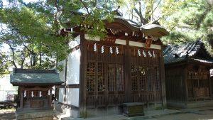意富比神社(船橋大神宮)神輿奉安殿・八坂神社・八劔神社