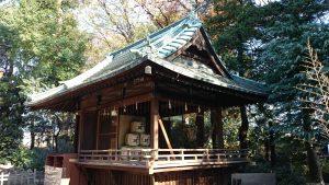 花畑大鷲神社 神楽殿