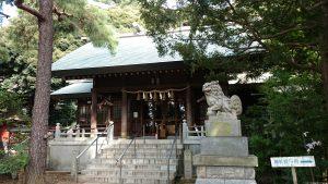 用賀神社 拝殿