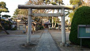 栗原氷川神社 二の鳥居