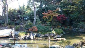 花畑大鷲神社 神苑